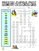 Geometry Puzzle Page (Wordsearch and Criss-Cross)