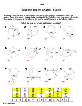 Geometry Puzzle Worksheets Bundle