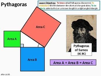 Geometry: Pythagoras 2 - Short side & Problems involving Pythagoras