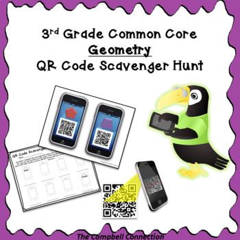 Geometry QR Code Scavenger Hunt