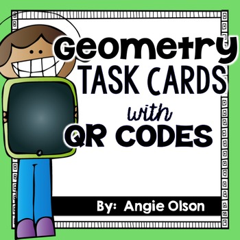 Geometry QR Code Task Cards