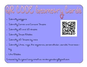 Geometry QR Codes