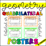 Geometry: Quadrilateral Posters!
