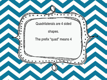 Geometry: Quadrilaterals Powerpoint