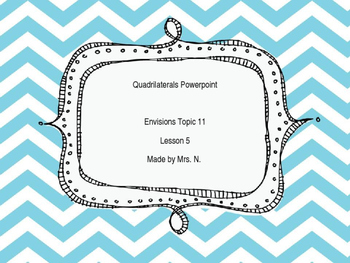 Geometry: Quadrilaterals Powerpoint