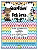 Geometry (Quadrilaterals) Task Cards (CC Aligned)