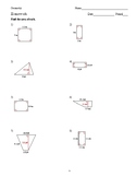 Geometry - Quadrilaterals and Polygons - Homework Pack