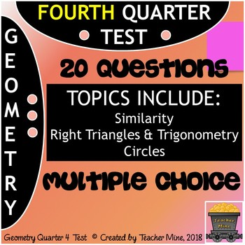 Geometry Quarter 4 Test