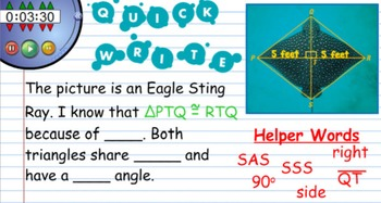Geometry Writing Prompts