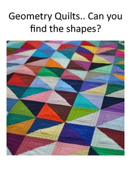 Geometry Quilt Making