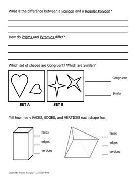Geometry Quiz 1