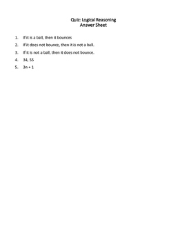 Geometry Quiz: Logical Reasoning