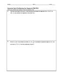 Geometry Quiz - Partitioning Line Segments BUNDLE