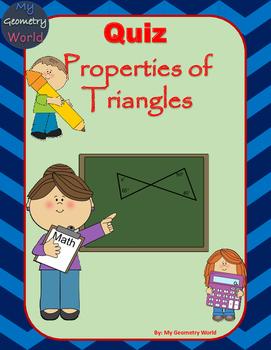 Geometry Quiz: Properties of Triangles