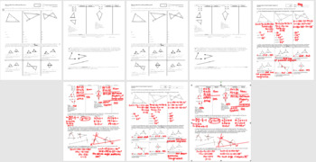 Geometry Quiz Proving Triangles Congruent Fall 2013; 2 versions; 2 pages each