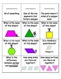 Geometry Quiz-Quiz-Trade  2nd Grade