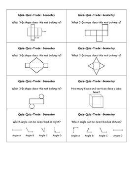 Geometry Quiz-Quiz-Trade