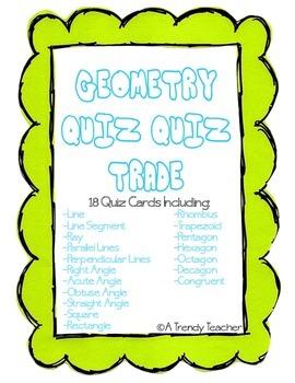 Geometry - Quiz, Quiz, Trade
