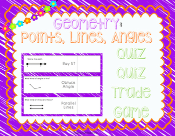 Geometry Quiz Quiz Trade Game