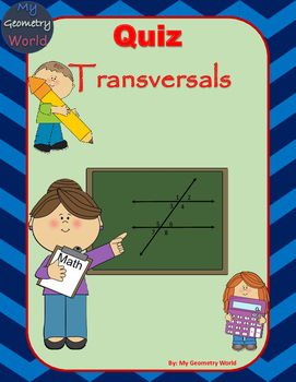 Geometry Quiz: Transversals and Related Angles