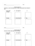 Geometry Quiz for grades 2-4