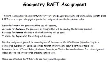 Geometry RAFT Assignment