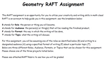 Geometry RAFT Assignment