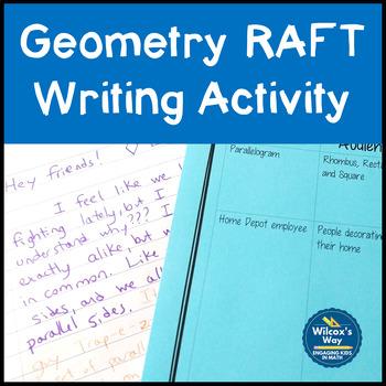 Raft Writing In Math Teaching Resources Teachers Pay Teachers