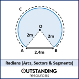 Geometry: Radians 2 - Arcs, Sectors and Segments (+ lots o