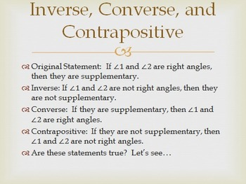 geometry powerpoint reasoning and proof chapter 2 by joseph mezzina