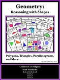 Geometry: Reasoning with Shapes (Instructional Visuals & F