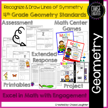 Geometry: Recognize & Draw Lines of Symmetry 4.G.3