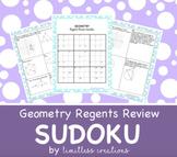 Geometry Regents Review Sudoku