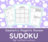 Geometry Regents Review Sudoku