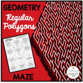 Geometry Regular Polygons Maze
