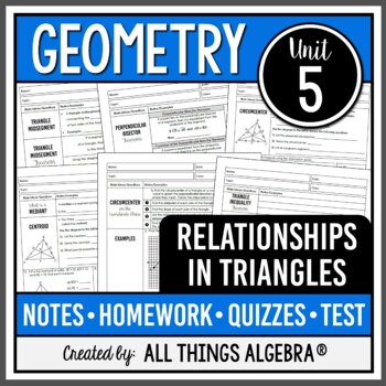 Geometry Test Prep | Teachers Pay Teachers