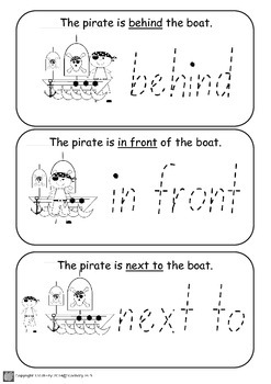 Geometry - Relative Position with Pirates and Princesses