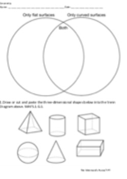 Geometry Review 2D and 3D shapes