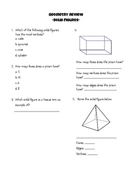 Geometry Review