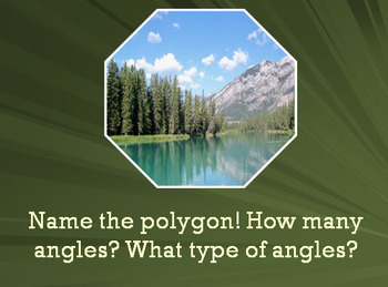 """Geometry Review - Angles & Polygons """"Quick and Dirty"""" Refresher!"""