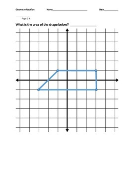 Geometry Review: Area, Perimeter, Coordinates, Coordinate Grid