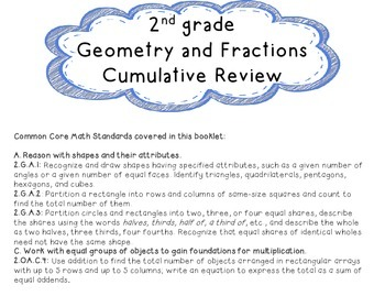 Geometry Review Booklet