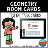 Geometry Review Boom Cards Digital Task Cards for Digital