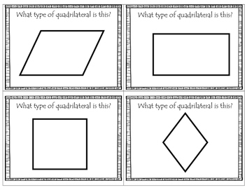 Geometry Review Cards