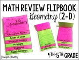 Geometry Review Flipbook (2-D Geometry)