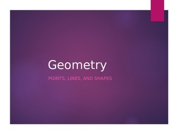 Geometry Review Power Point