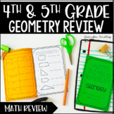 Geometry Review Printable Booklet {2-D Shapes}