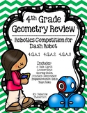 Geometry Review Robotics Competition for Dash Robot