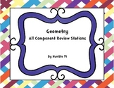 Geometry Review Stations- 6.G.1, 6.G.2, 6.G.3, 6.G.4