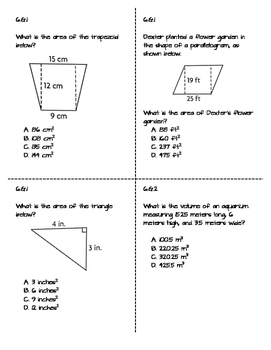 Geometry Review and Test